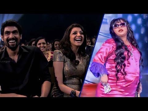 Comedy Queen Bharti Making Fun At CCL Curtain Raiser