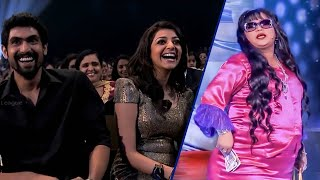 Comedy Queen Bharti Making Fun At CCL Curtain Raiser