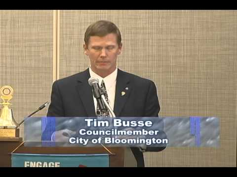 Bloomington Councilmember Tim Busse, I-35W/I-494 Interchange