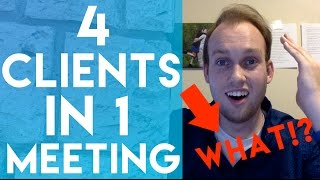 I Got 4 SOCIAL MEDIA MARKETING CLIENTS In ONE MEETING!?