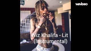 Wiz Khalifa - Lit (Instrumental by Harry)