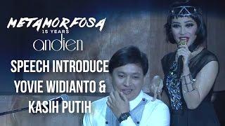 Gambar cover Andien - Speech Introduce Yovie Widianto & Kasih Putih | (Andien Metamorfosa)