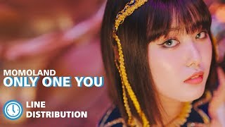 MOMOLAND (모모랜드) - 'Only One You' (Line Distribution) mp3
