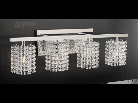 Crystal Bathroom Vanity Lights