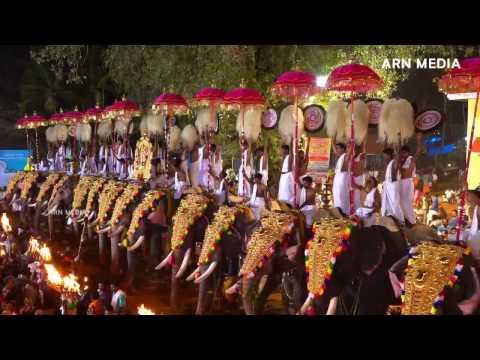 Arattupuzha Pooram 2016 Panchari Melam 3
