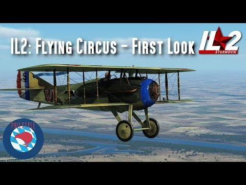 IL2 Flying Circus  First Look