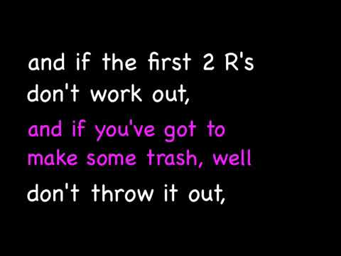 Jack Johnson - Reduce, Reuse, Recycle - 3 R Song