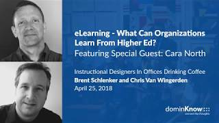eLearning - What Can Organizations Learn From Higher Ed? - IDIODC Ep#11