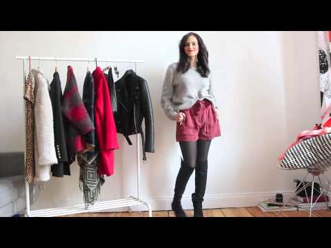 outfits wie trage ich meine overknee stiefel lookbook. Black Bedroom Furniture Sets. Home Design Ideas
