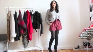 Outfits - Wie trage ich meine Overknee Stiefel. Lookbook. Mit jeans, Röcke und Kleider kombinieren