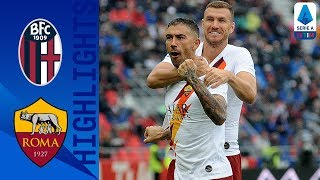 Bologna 1-2 Roma | Late Džeko Strike Earns 10-Man Roma Victory | Serie A