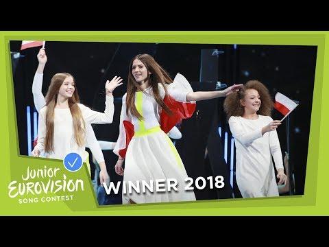 Roksana Węgiel - Anyone I Want To Be - Poland 🇵🇱 - WINNER - LIVE - Junior Eurovision 2018