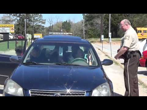 TEENS ARRESTED FOR RECKLESS DRIVING- Red Level High School PSA