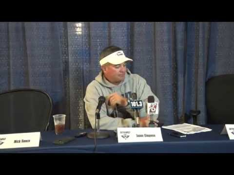 Football Press Conference: Aug. 31