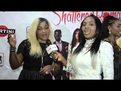 Redcarpet Moments From Shattered Romance Movie Premiere | Pulse TV