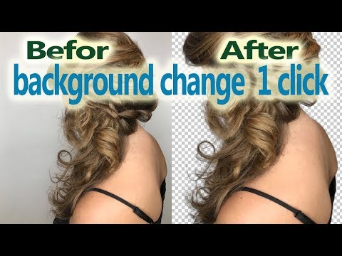 Photo Background Remove just 5 seconds without  photoshop
