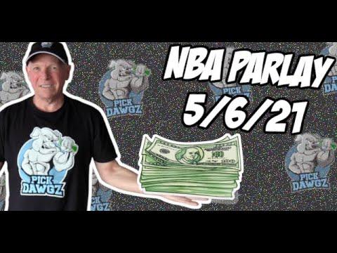 Free NBA Parlay Mitch's NBA Parlay for 5/6/21 NBA Pick and Prediction