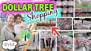 Come with me to DOLLAR TREE + HAUL! LARGEST Store! NEW Makeup + more!
