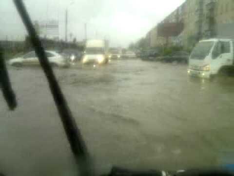 Миасс челябинская обл. Потоп 02,06,11