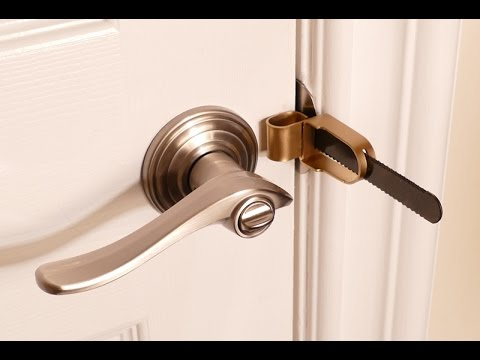 Portable Door Lock For Hotels Home Or Dorm Youtube