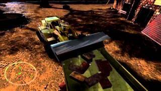 Let's Play Construction Machines 2014 [HD] [BLIND] - #04 Wir beenden das Dilemma