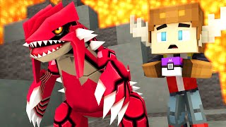 CATCHING GROUDON IN POKEMON GO! (Minecraft Roleplay)
