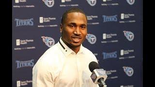 Titans Introduce RB Dion Lewis