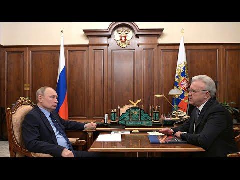 Vladimir Putin - Working meeting with Krasnoyarsk Territory Governor Alexander Uss 11.05.2021