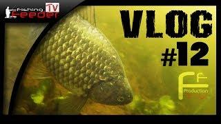 Vlog #12. Ловля карася фидером. Ночная ловля на реке. Подводная съемка.