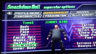 Jimmy King WWF No Mercy Formula