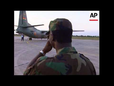 Sierra Leone - US Marines Airlift Liberian Warlord