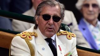 Ilie Nastase will not be invited to Wimbledon's Royal Box this year - video