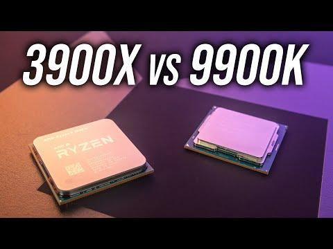 Amd Ryzen 9 3900x Vs Intel I9 9900k Cpu Comparison Youtube
