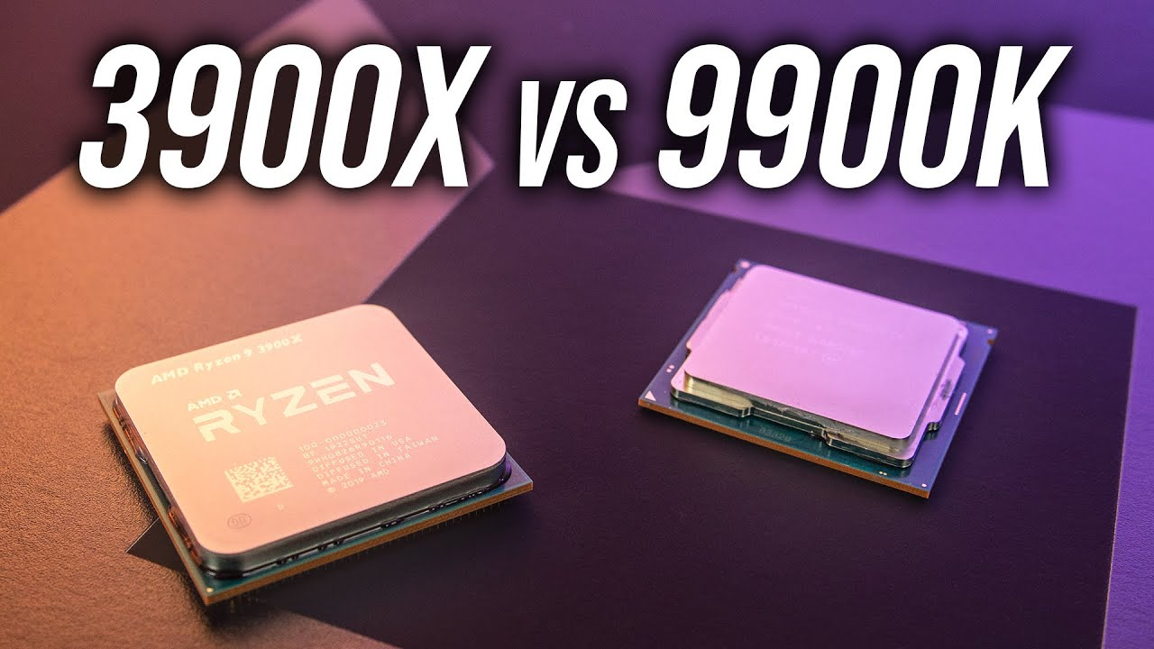 AMD Ryzen 9 3900X vs Intel i9-9900K - CPU Comparison