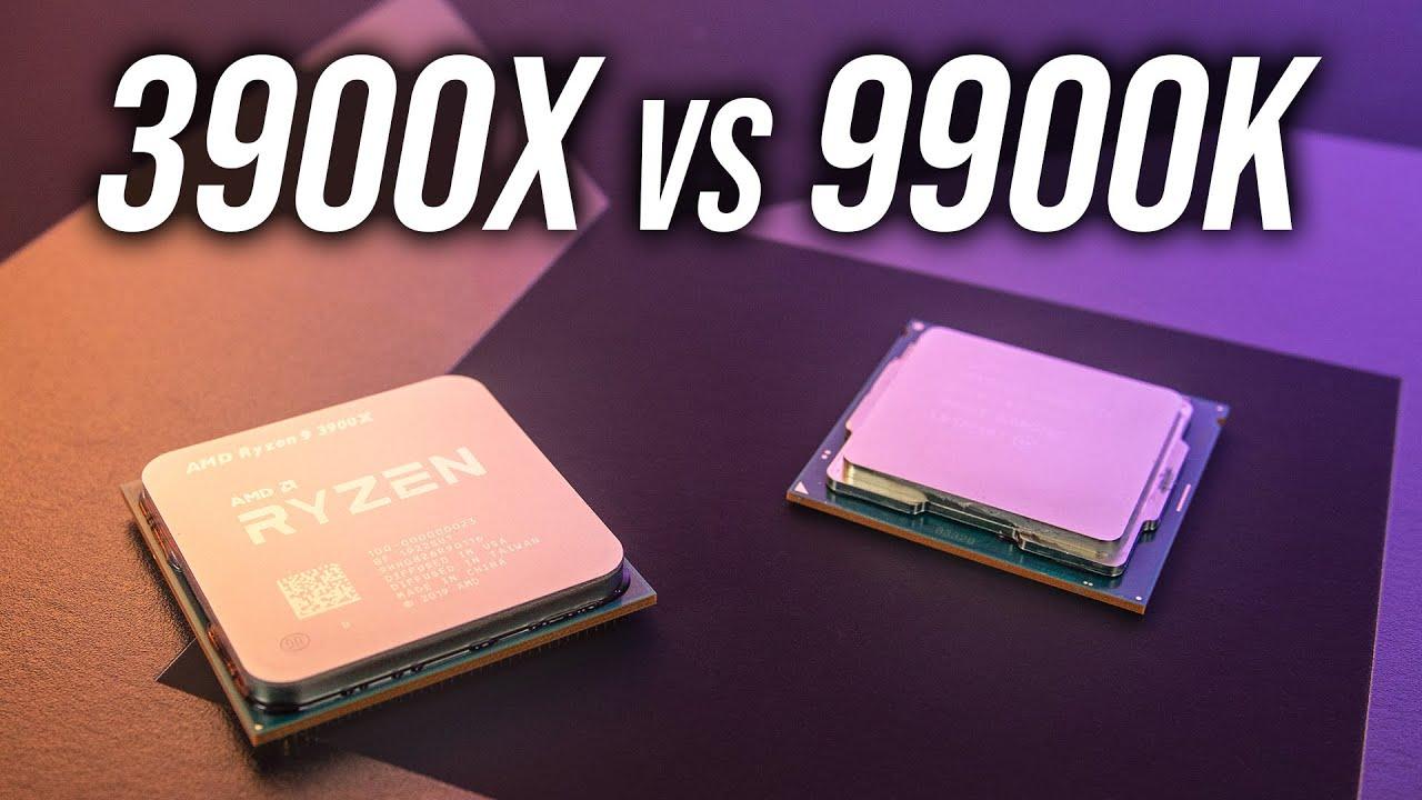 AMD Ryzen 9 3900X vs Intel i9-9900K - CPU Comparison - YouTube