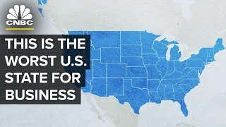 This Is The Worst State For Business | CNBC