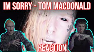 THIS WENT HARD! I'M SORRY - TOM MACDONALD | REACTION + BREAKDOWN