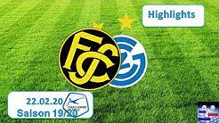 Highlights: FC Schaffhausen vs Grasshopper Club Zürich (22.02.2020)