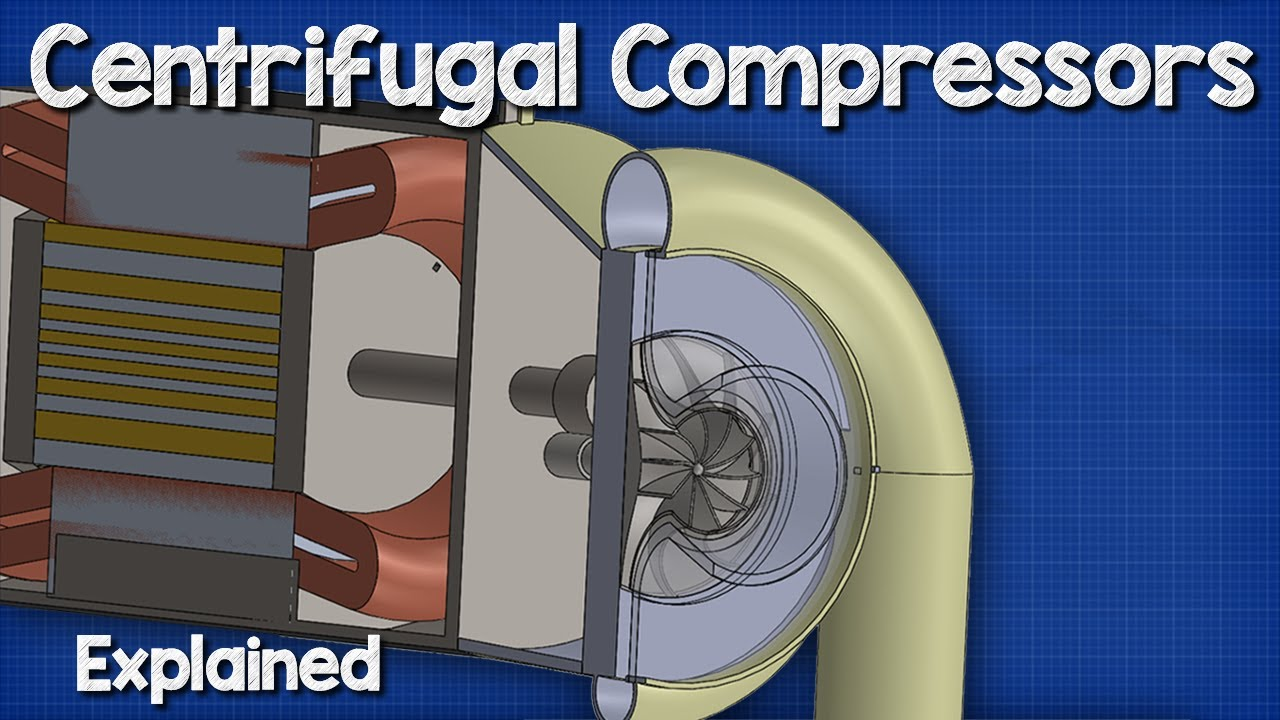 Centrifugal Compressors Chillers Hvac Youtube