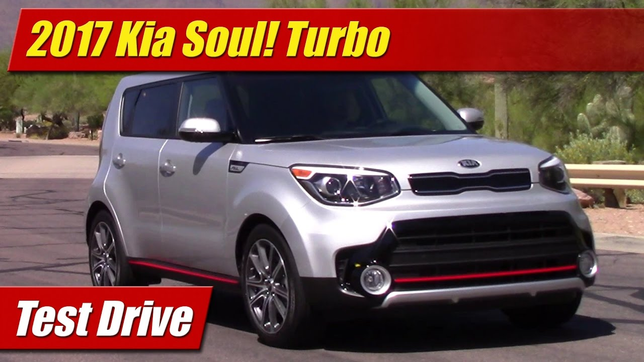 2017 Kia Soul Turbo Test Drive