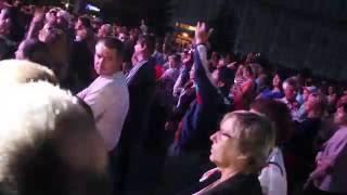 ПРИКОЛ 2016. Секс Телы спели про Украину. Самый Лучший Танец Вечера ( День города Сумы 2016 )