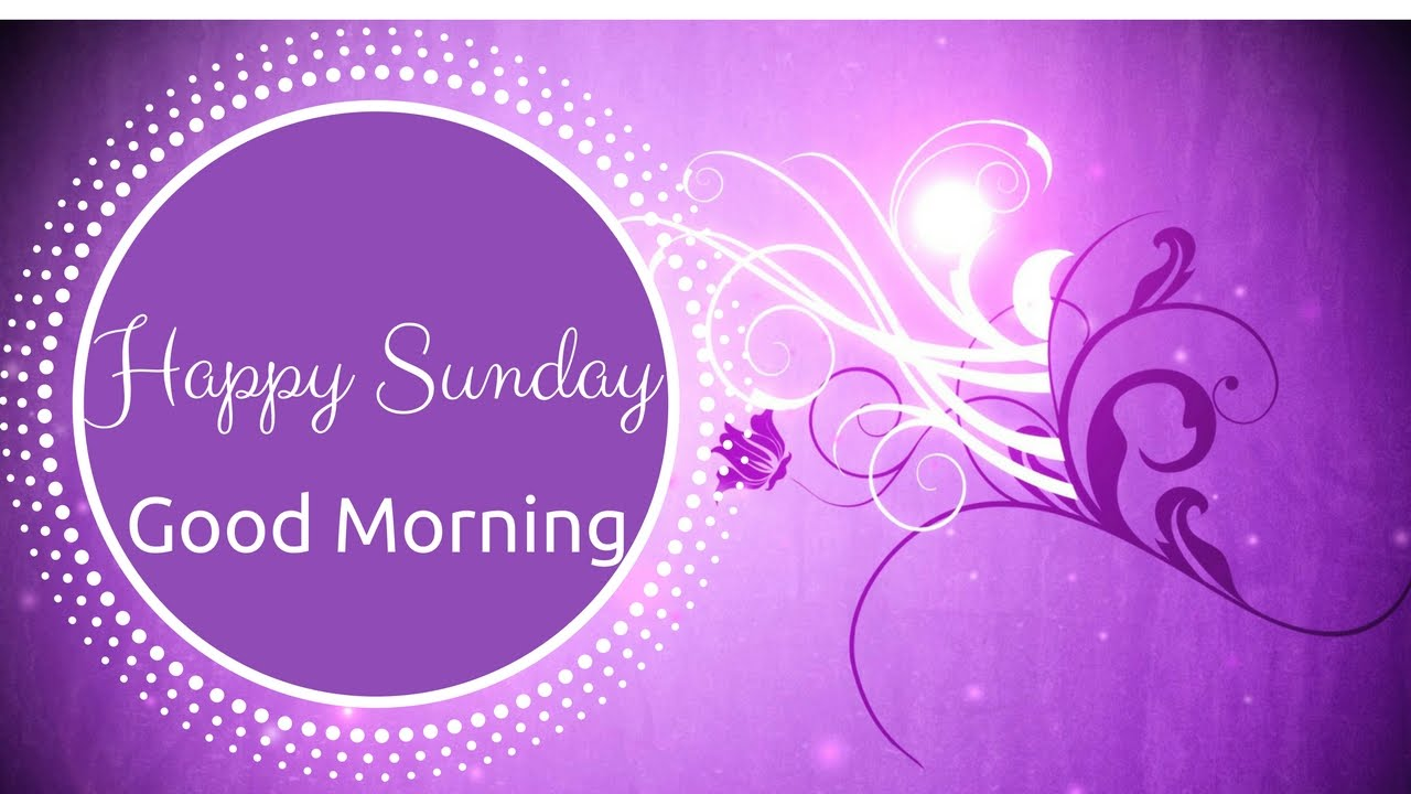 Happy Sunday Adorable Good Morning Video Youtube