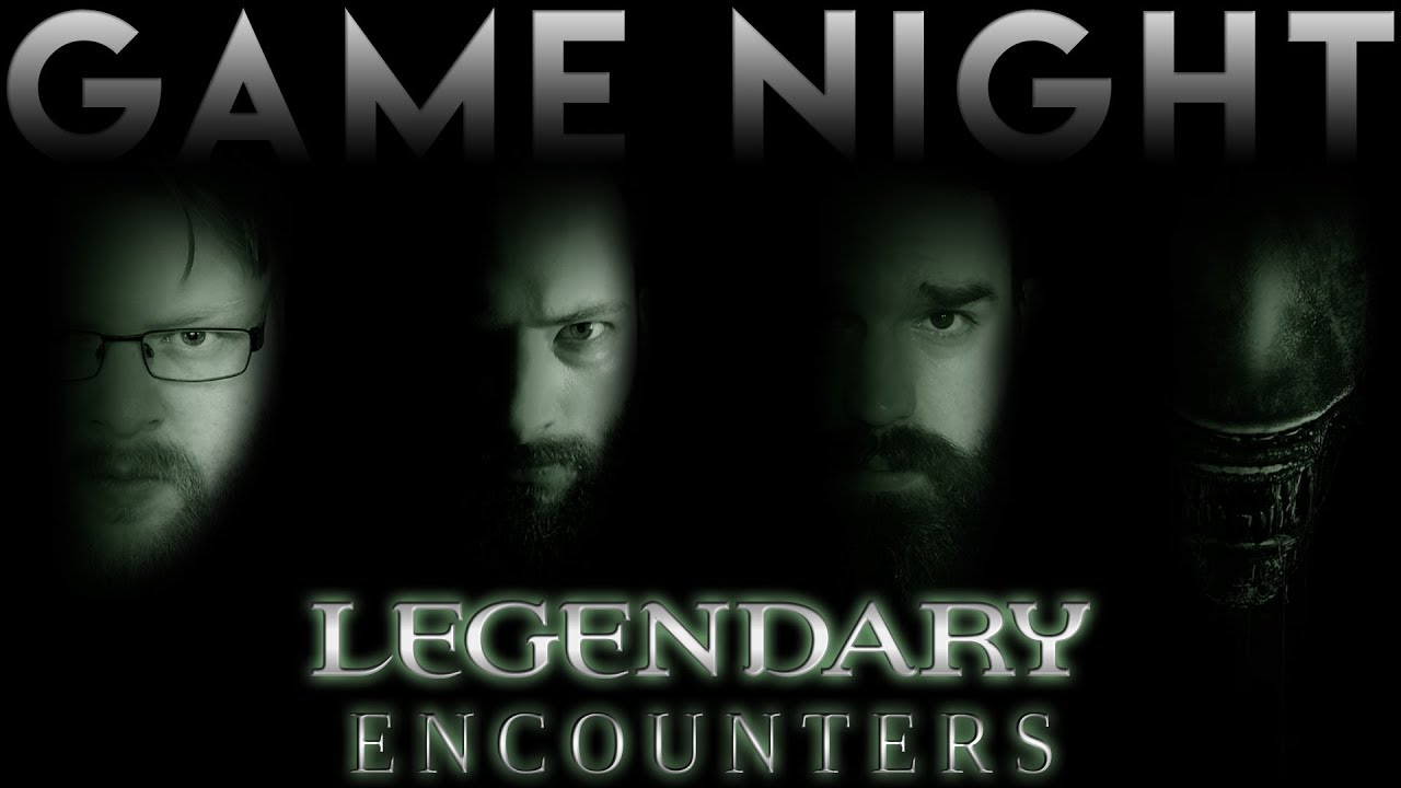 Legendary Encounters An Alien Deck Building Game Game Night