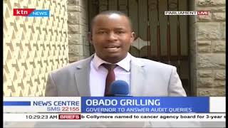 OBADO GRILLING: Governor Obado to appear before CPAIC to answer audit queries