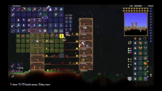 Terraria Hunting for guardian w/Wolfboy 99 8
