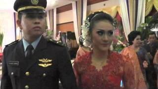 Tradisi Upacara Pernikahan Pedang Pora AU Letda Nav Ricardo Sinaga (Part 1)