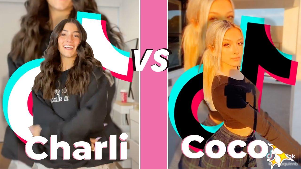 Download Charli D'amelio Vs Coco Quinn |  TikTok Dance Battle  2020 | PerfectTiktok HD