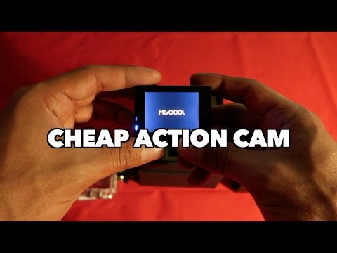 Cheap action camera (MGcool Explorer)
