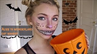 halloween cat makeup, hair & outfit  tutorial Thumbnail