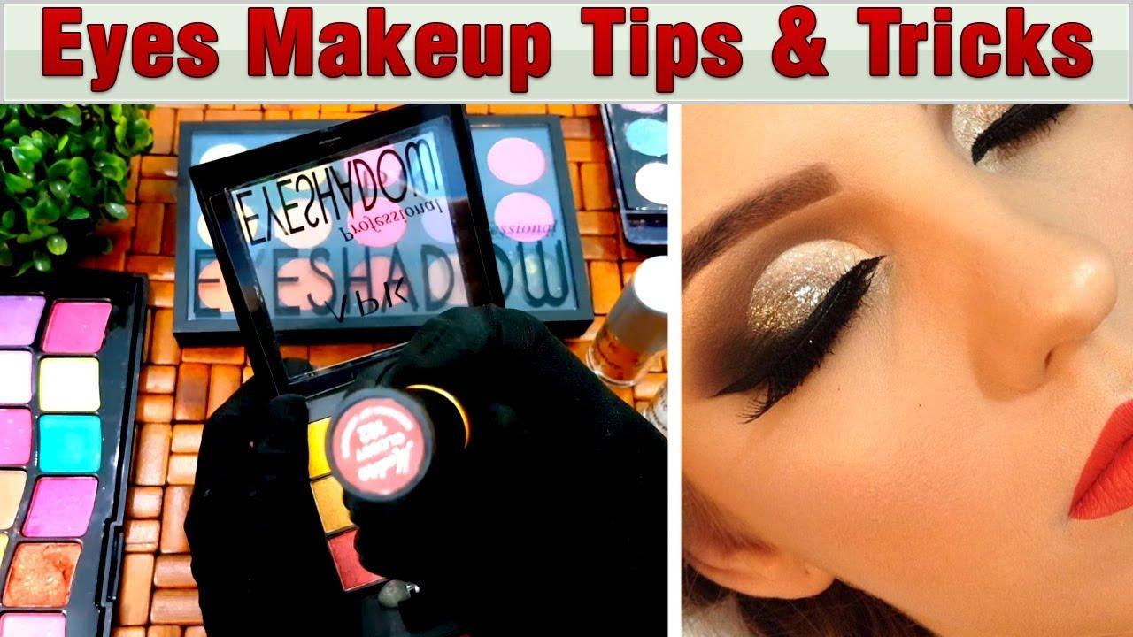 b8217a75f80 Quick Eye Makeup Tips & Tricks for Newbies – Brush, eye pellets Tutorial  Step by Step Urdu Hindi